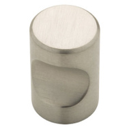 Brainerd 63118NA 3/4 Inch Thumb Cabinet Hardware Knob Stainless Steel