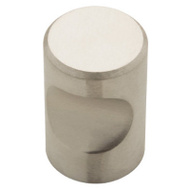 Brainerd 63120NA 7/18 Inch Thumb Cabinet Knob Stainless Steel