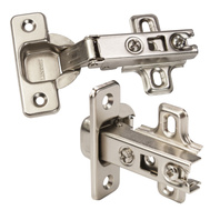 Brainerd HC11SFL-NP-U1 110 Degree Nickel Full Overlay Frameless Hinge Pack Of 10
