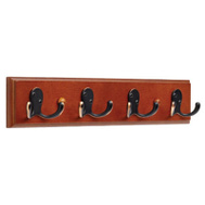 Brainerd 139638 16 Inch Caramel And Bronze With Copper Highlights 4 Double Hook Rail