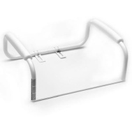 Liberty Hardware DF575 Toilet Seat Safety Bar White 23 By 18 Inch