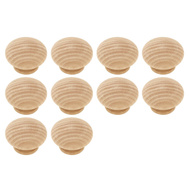 Brainerd P10513C-BIR-U1 1-1/2 Inch Wood Round Cabinet Knob Birch Pack Of 10