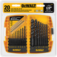 DeWalt DW1177 Drilling Set Blk Oxd Mtl 20Pc