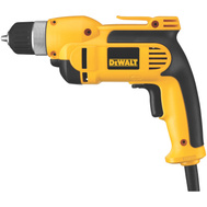 DeWalt DWD110K 7.0 Amp 3/8 Inch Vsr Pistol Grip Drill Kit With Keyless Chuck