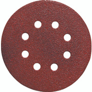 Porter Cable 725800625 5 Inch 8 Hole Adhesive Back Aluminum Oxide 60 Grit Coarse 25 Pack