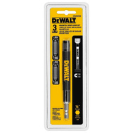DeWalt DW2055DE 6 Inch Drive Guide With Double Ended P2 Bit Set