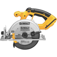 DeWalt DC390B 18 Volt 6 1/2 Inch Cordless Circular Saw (Tool Only, No Battery)