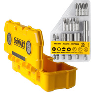 DeWalt DWMTC15 Tough Case Magnetic Tough Case 15 Piece Drill Driver Accessory Set