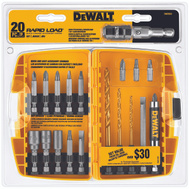 DeWalt DW2503 20 Piece Rapid Load Magnetic Set