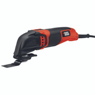 Black & Decker BD200MTB Oscillating Multi-Tool 2.0 Amp
