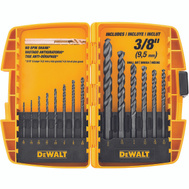 DeWalt DW1162 14 Piece Black Oxide Drill Bit Set