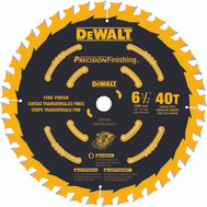 DeWalt DW9196 6-1/2 Inch 40 Tooth Precision Finishin