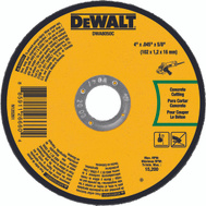 DeWalt DWA8050C 4 By.045 By 5/8 Masonry Cut-Off W