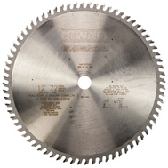DeWalt DW71272HG 12 Inch Premium Woodworking Saw Blade 72 Tooth 10 Degree Melamine