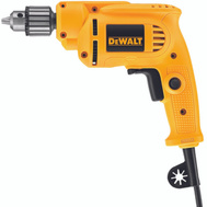 DeWalt DWE1014 3/8 Inch 7 Amp 0-2800 RPM Variable Speed Drill With Keyed Chuck