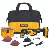 DeWalt DCS355D1 20 Volt Max XR Lithium-Ion Oscillating Tool Kit
