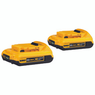 DeWalt DCB203-2 Battery Cdlss Cmpct 20V Li-Ion 2 Pack