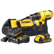 DeWalt DCD771C2 20 Volt Max Lithium-Ion Compact Drill Driver 2 Batteries Charger & Bag