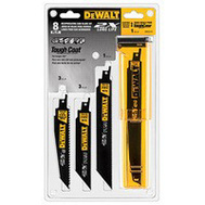 DeWalt DWA4101 Set Blade Reciprocating 2X 8Pc