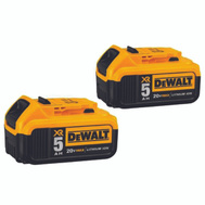 DeWalt DCB205-2 Battery 20Volt Max 5Ah 2-Pack