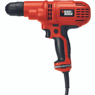 Black & Decker DR260C/B Variable Speed Reversing Drill With Case 3/8 Inch 5.2 Amp