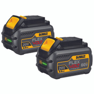 DeWalt DCB606-2 Battery 20/60V Flexvolt 2Pk K 2 Pack