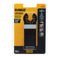 DeWalt DWA4270B Recision Tooth Oscillating Cutting Blade, 1-1/4 In 10 Pack