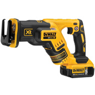 DeWalt DCS367P1 Saw Recip Compact Brushlss 20V