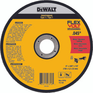 DeWalt DWAFV86045 Cutting Wheel 6X.045X7/8In T1