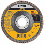 DeWalt DWAFV84580 Flap Disc 4.5 X 7/8In 80G T29