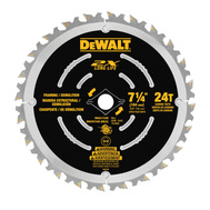DeWalt DWA35724DB10 Wet/Dry Circular Saw Blade, 7-1/4In