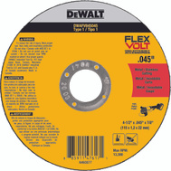 DeWalt DWAFV845045B5 Cut Wheel 4.5X.045X7/8 T1 5Pk 5 Pack