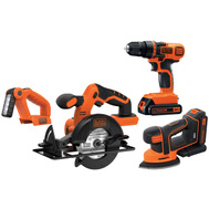 Black & Decker BD4KITCDCMSL Tool Combo Kit 4Pc 20V