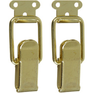 National Hardware S833-295 N208-561 Stanley Draw Catches 2-1/4 By 7/8 Inch Brass Plated Steel 2 Pack
