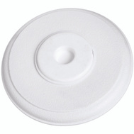 National Hardware S575-413 Stanley Moulded Cover Up Wall Guard 5-3/8 Inch Round White