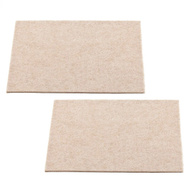 National Hardware S845-250 Stanley Heavy Duty Self Adhesive Felt Pads 4-1/2 By 6 Inch Oatmeal 2 Pack