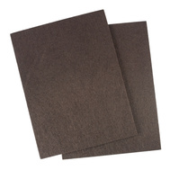 National Hardware S845-323 Stanley Medium Duty Self Adhesive Felt Pads 4-1/2 Inch By 6 Inch Brown 2 Pack
