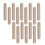 National Hardware S845-273 Stanley Heavy Duty Self Adhesive Felt Strips 1/2 By 2-5/8 Inch Oatmeal 16 Pack