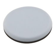 National Hardware S845-497 Stanley Self Adhesive Furniture Sliders 2-3/8 Inch Round Gray 4 Pack