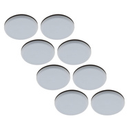 National Hardware S845-505 Stanley Self Adhesive Furniture Sliders 1 Inch Round Gray 8 Pack