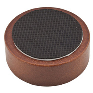 National Hardware S845-671 Stanley Rubber Grip Caster Cups 1-11/16 Inch Round Brown Woodgrain 4 Pack