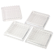 National Hardware S845-721 Stanley Spiked Furniture Cups 1-7/8 Inch Square Clear 4 Pack