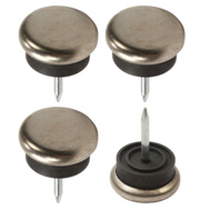 National Hardware S845-861 Stanley Nail On Metal Glides 7/8 Inch 4 Pack