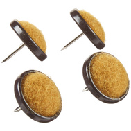 National Hardware S845-877 Stanley Nail On Carpeted Glides 1 Inch 4 Pack