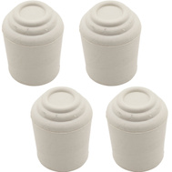 National Hardware S846-115 Stanley Leg Tips 1 Inch White Rubber 4 Pack