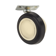 National Hardware S846-281 Stanley 2-1/4 Inch Brass Ball Plate Casters 2 Pack