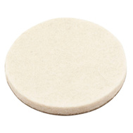 National Hardware S849-210 Stanley 1-1/2 Inch Round Flexi-Felt Pads Oatmeal 8 Pack