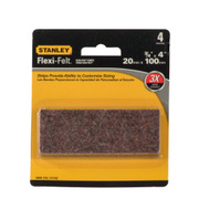 National Hardware S849-310 Stanley 3/4 Inch By 4 Inch Flexi-Felt Strips Brown 4 Pack