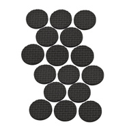 National Hardware S845-001 Stanley Anti Skid Self Adhesive Grips 1 Inch Round Black Rubber 16 Pack