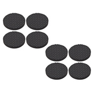 National Hardware S845-003 Stanley Anti Skid Self Adhesive Grips 1-1/2 Inch Round Black Rubber 8 Pack